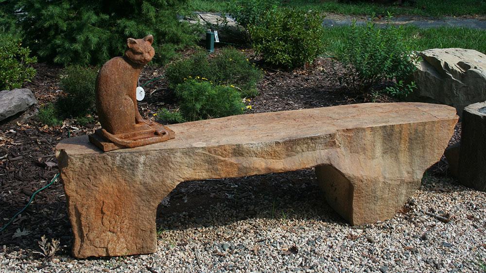 Desert Stone Bench